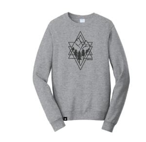 Diamond with Mountains Sweatshirt