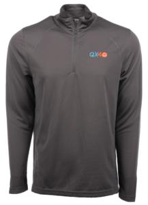 Horizon Air Sweatshirt Half Zip Mens Cutter and Buck 40th Anniversary