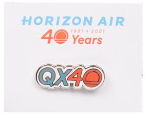 Horizon Air Pin QX40th Anniversary