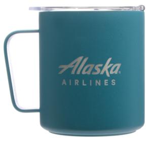 Alaska Airlines Mug MiiR Camp Cup 12oz Prismatic