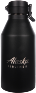 Alaska Airlines Growler MiiR 64oz Black
