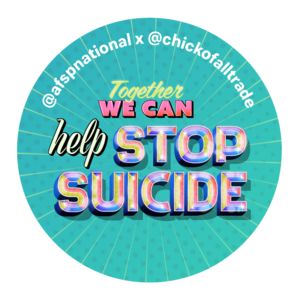 Together We Can Help Stop Suicide Sticker (Pack of 10)