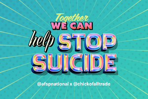 Together We Can Help Stop Suicide Postcard (Pack of 25)