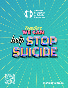 Together We Can Help Stop Suicide Flyer (Pack of 25)
