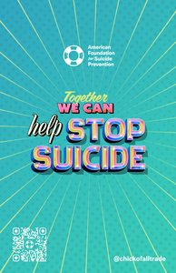 Together We Can Help Stop Suicide Small Poster (Pack of 5)