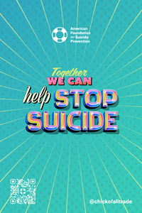 Together We Can Help Stop Suicide Large Poster (Pack of 5)