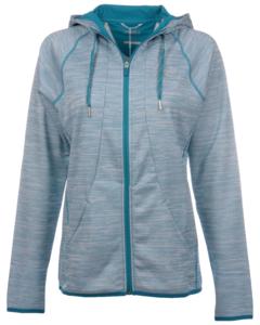 Alaska Airlines Jacket Full Zip Ladies Cutter and Buck Direction Hood