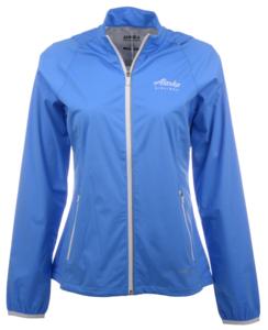 Alaska Airlines Jacket Ladies Cutter and Buck Rain Delay