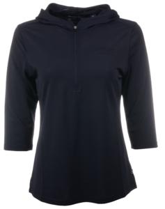 Alaska Airlines Sweatshirt Ladies Cutter and Buck 1/2 Zip Hoodie
