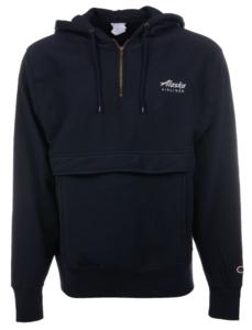 Alaska Airlines Sweatshirt Mens Gear Navy Vintage Wash Anorak