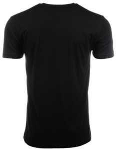 Huss Black and Copper Shield Tee