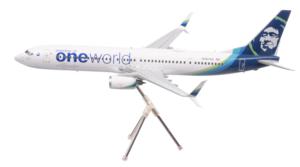 Alaska Airlines Model 1/200 scale Gemini 737/900 One World