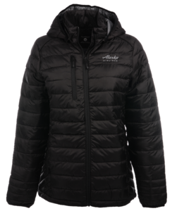 Alaska Airlines Jacket Ladies Cutter and Buck Hudson