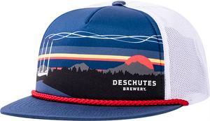 Deschutes Brewery Old Mill Foam Trucker Hat