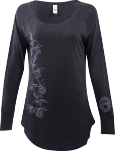 Women's Deschutes Brewery Hops Vine Long-Sleeve T-Shirt