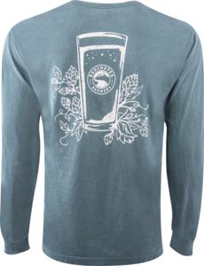 Deschutes Brewery Hops and Pint Long-Sleeve T-Shirt