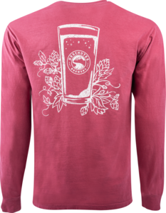 Deschutes Brewery Hops and Pint Long-Sleeve T-Shirt