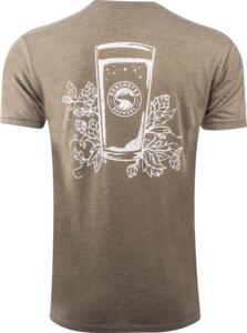 Deschutes Brewery Hops and Glass T-Shirt