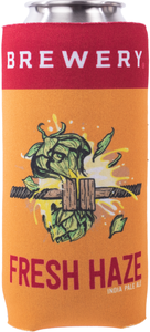 Beer Logo 19.2 oz Can Coolie: Fresh Squeezed/Fresh Haze